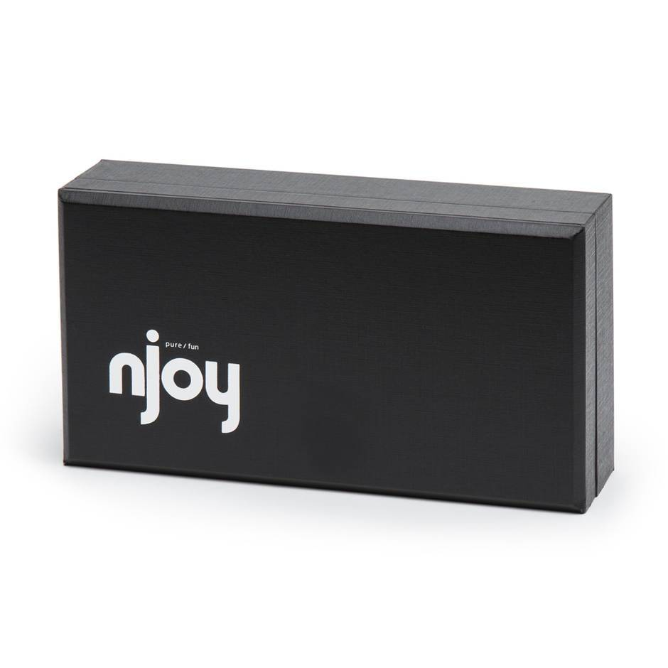 The Njoy Pure Wand Stainless Steel Dildo